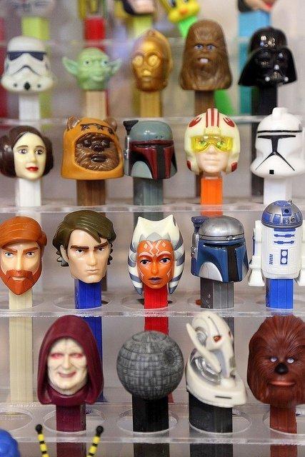 Star Wars PEZ Dispensers