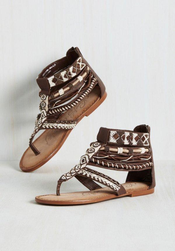 Embellished for Effect Sandal