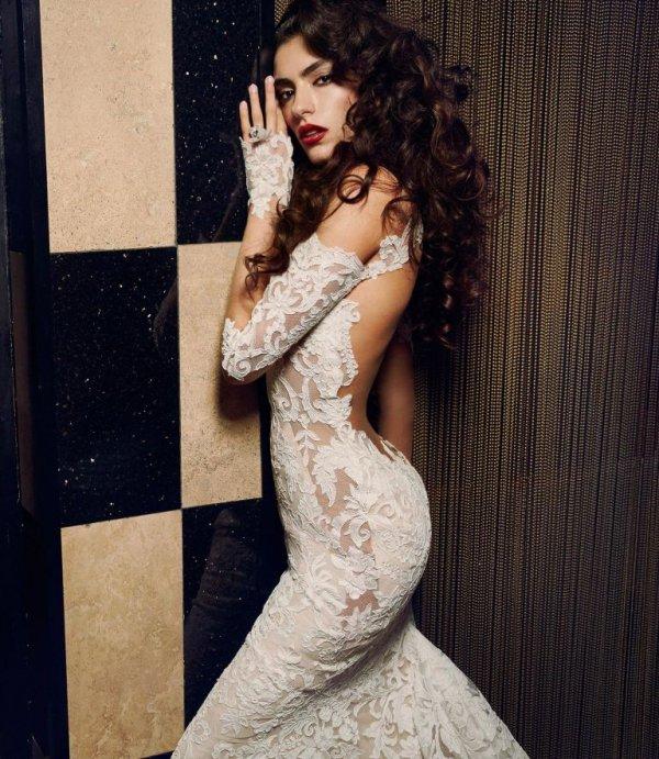 woman, clothing, person, dress, wedding dress,