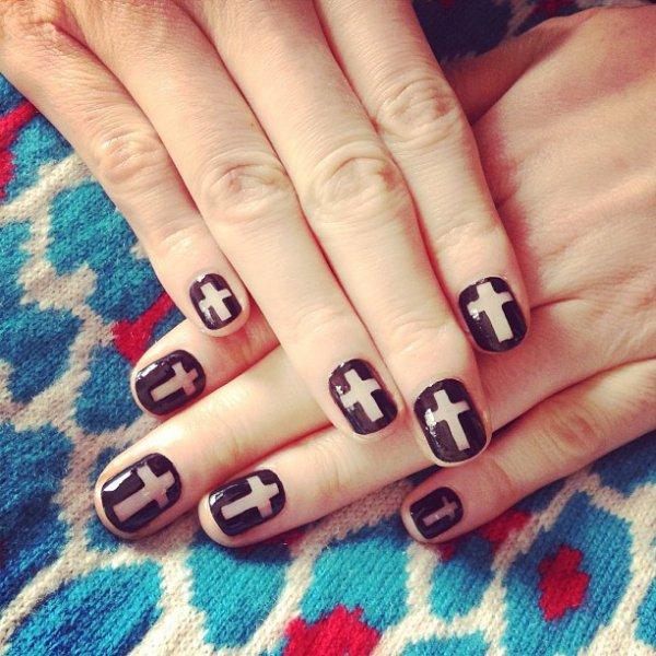 nail, manicure, pattern, cosmetics, acrylic paint,