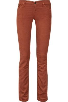 Goldsign Misfit Mid-Rise Skinny Corduroy Jeans