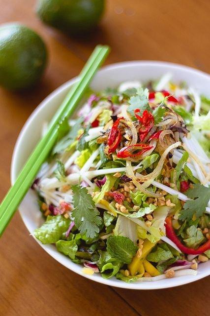 Vietnamese Chicken Papaya Salad