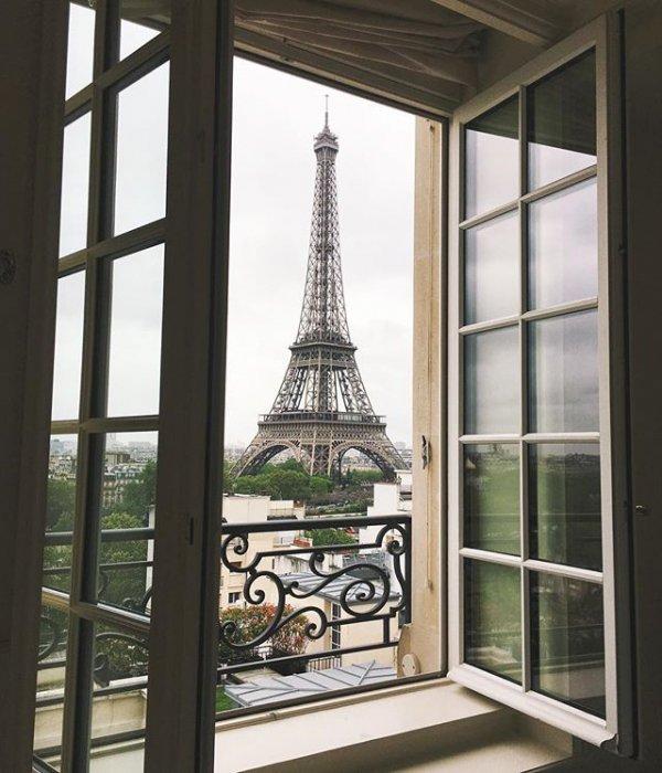 Eiffel Tower, structure, window, glass, interior design,