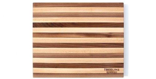 Treeline Homegoods Walnut and Hard Maple Cutting Board