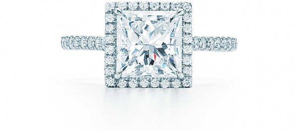 Tiffany Soleste® Princess Cut