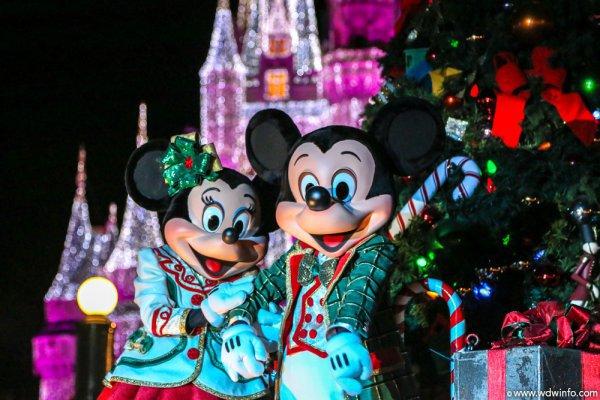 walt disney world, event, christmas, christmas decoration, festival,