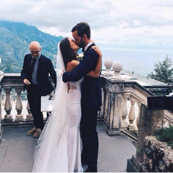man, bride, groom, ceremony, wedding,