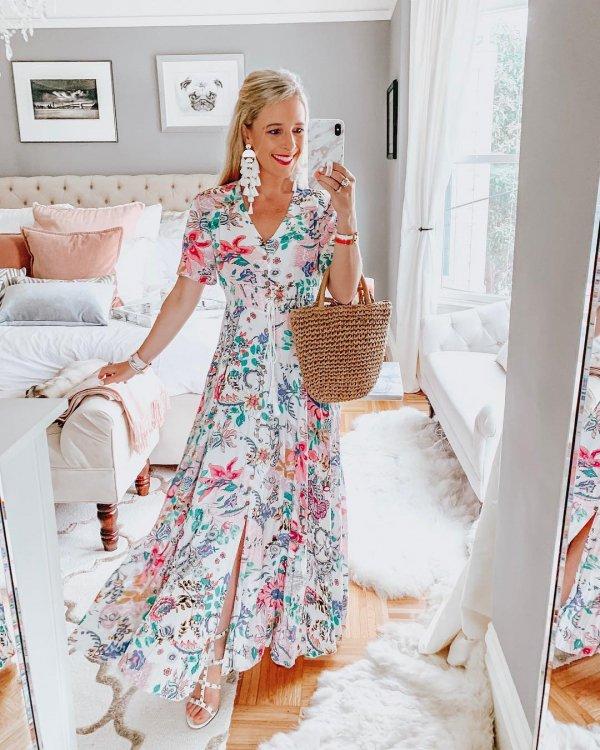 Clothing, White, Dress, Day dress, Sleeve,