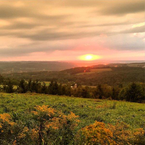 sky, nature, vegetation, hill, wilderness,
