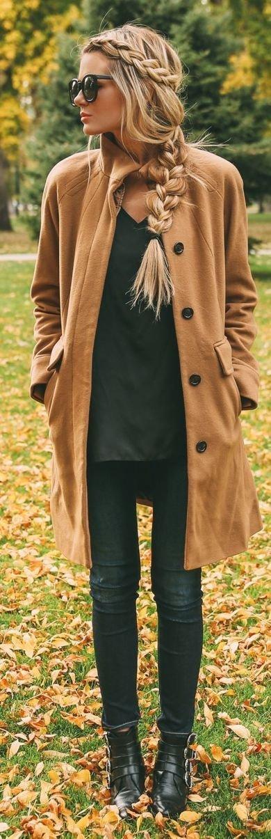Tan, Long Coat