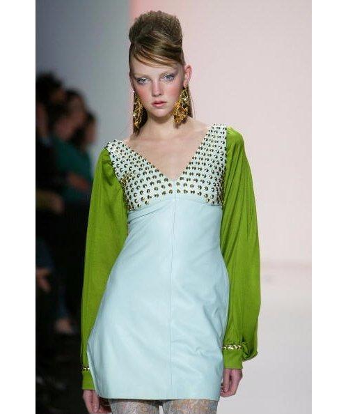 Clothing, Fashion model, Dress, Green, Fashion,