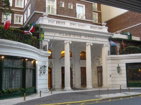 Claridge Hotel in Buenos Aires, Argentina