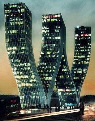 The Walter Towers, Prague, Czech Republic