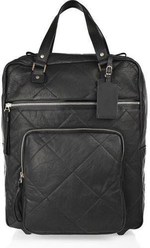 Lanvin Amalia Voyage Leather Suitcase