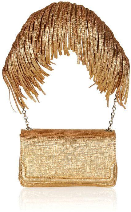 Christian Louboutin Artemis Fringed Shoulder Bag