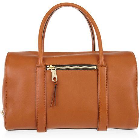 Chloe Madeleine Leather Duffel Bag