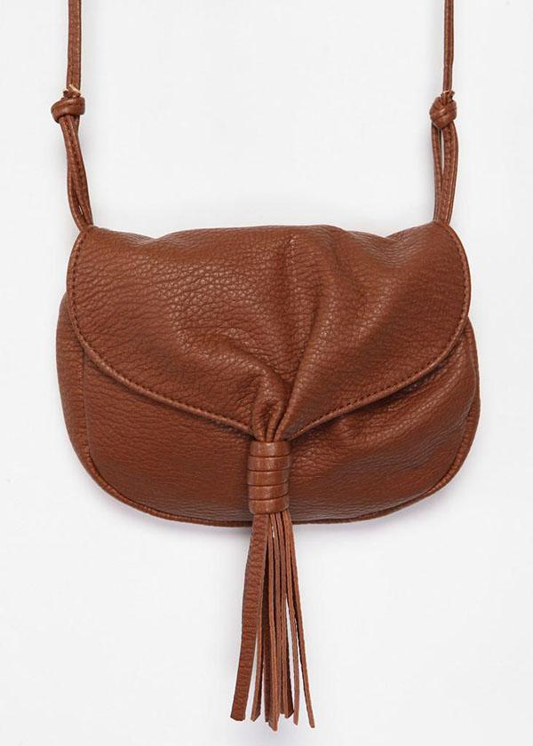 Ecote Tassel Crossbody Bag
