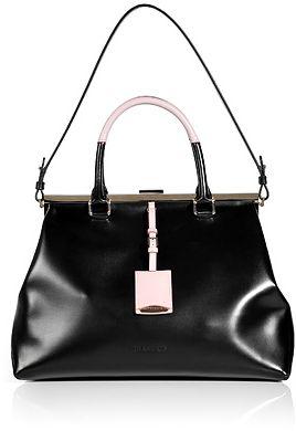 Black Double Handle Doctor Bag