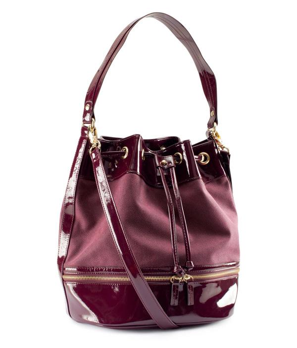 Berry Drawstring Bag