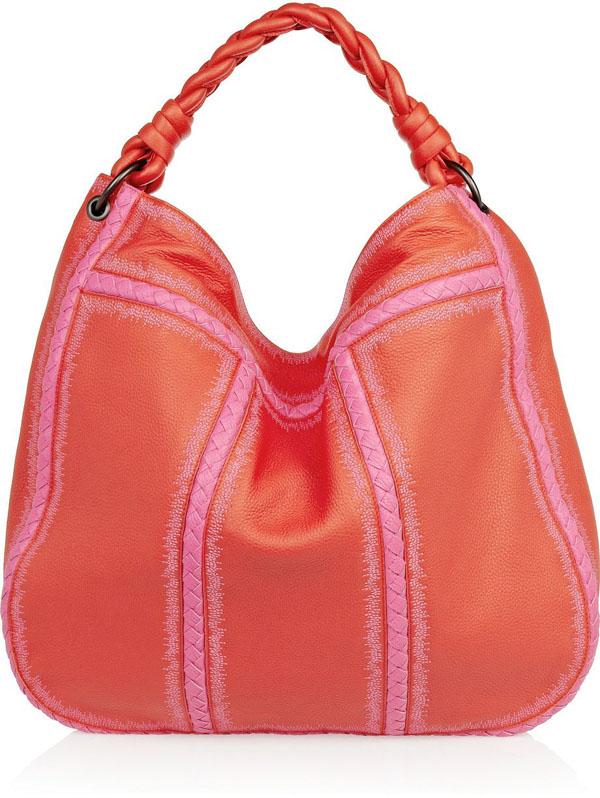 Braided Leather Hobo Bag