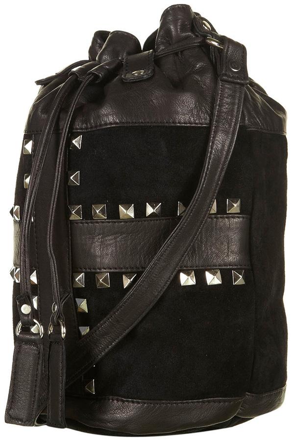 Studded Drawstring Bag