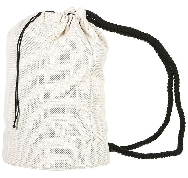 Perforated Drawstring Bag