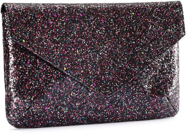 Glitter Envelope Clutch