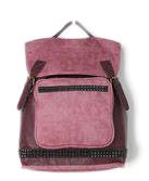 Deena & Ozzy Matte Stud Backpack