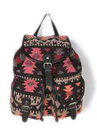 Ecote Sun-Faded Geometric Backpack