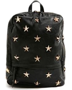 Nasty Gal Star Studded Backpack