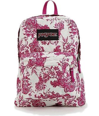 Jansport Etoile Floral Print Backpack