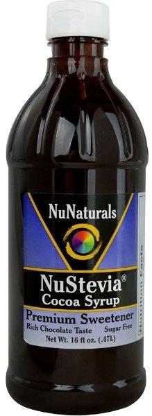 NuNuturals NuStevia Cocoa Syrup