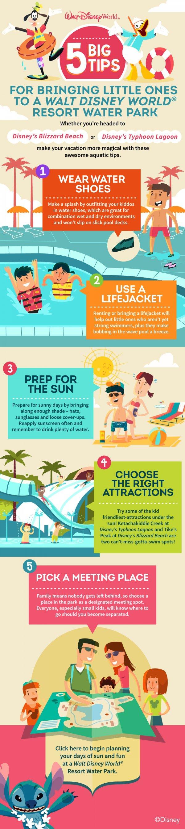 5 Big Tips for Bringing Little Ones to a Walt Disney World Resort Water Park