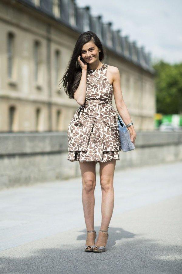 7 Street Style Ways to Wear Animal Print This Summer ... …