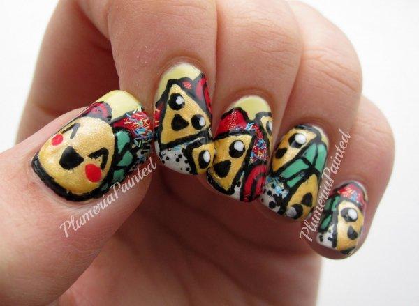 Nacho and Taco Emojis
