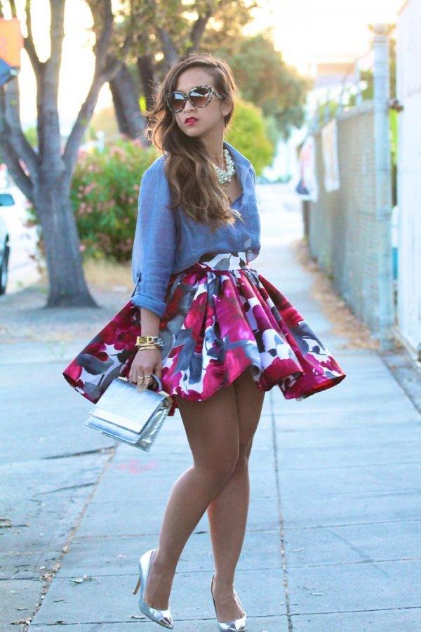 Show Some Leg under a Glorious Skirt