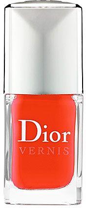 Dior Vernis Nail Lacquer in Riveria 537 Bright Orange Coral