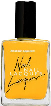 American Apparel Nail Polish in Sunshine State