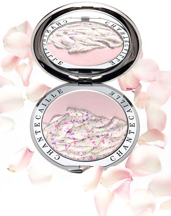 Chantecaille Rose Petals Highlighter Powder