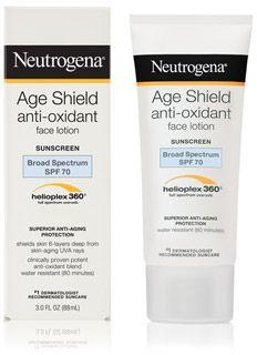 Neutrogena Age Shield anti-Oxidant Face Lotion with 70 SPF