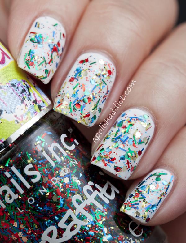 3 Graffiti Nails