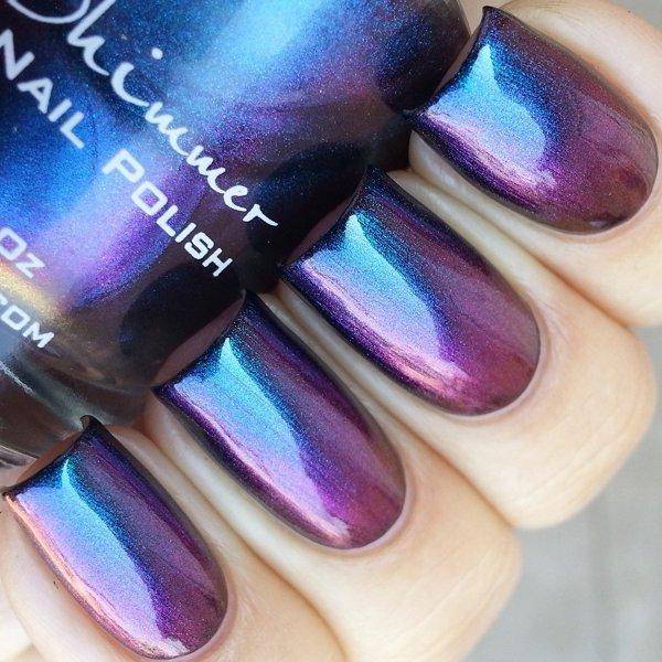 color, purple, violet, nail, blue,