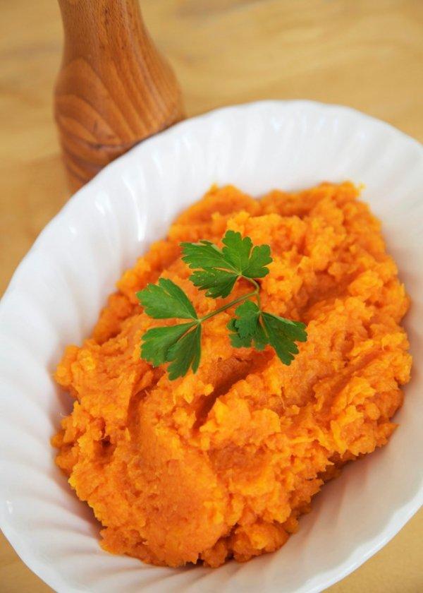 Curried Sweet Potato