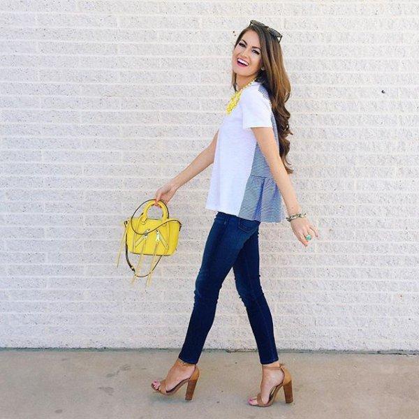 clothing, yellow, footwear, spring, fashion,