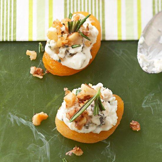 Blue Cheese-Stuffed Apricots