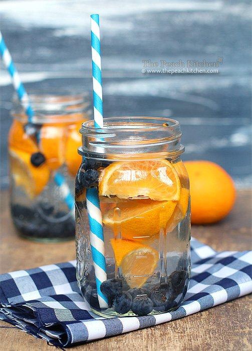 Blueberry Orange Water