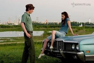Kristen Stewart outside Twilight