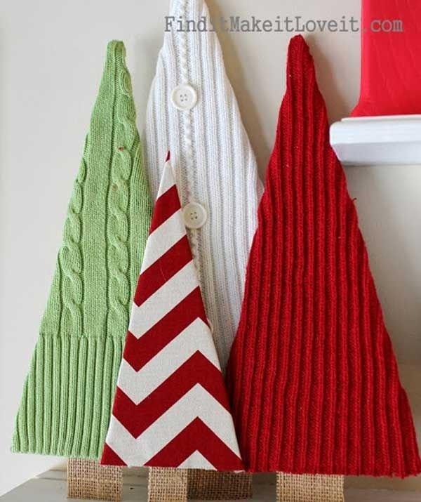 Diy Christmas Tree Sweater: 38 DIY Christmas Trees Of All Sorts Crafty…