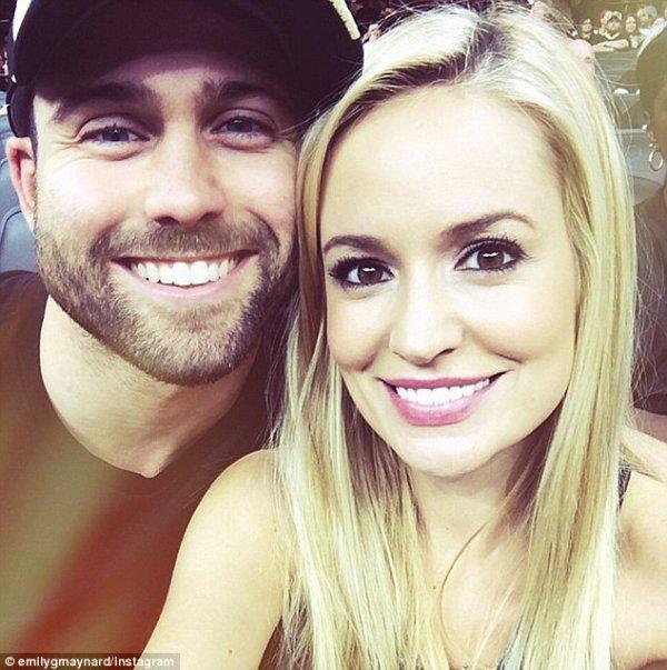 Emily Maynard and Tyler Johnson