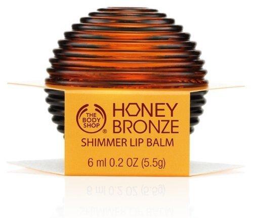 Honey Bronze Shimmer Lip Balm by the Body Shop